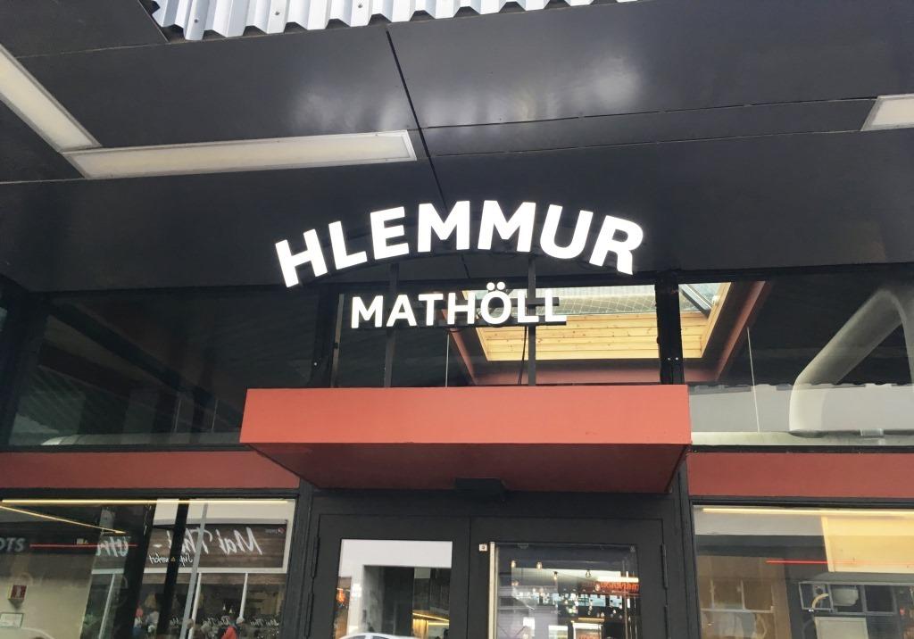 Hlemmur Market entrance