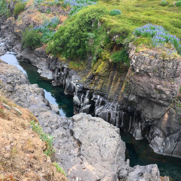 Gorge on Iceland