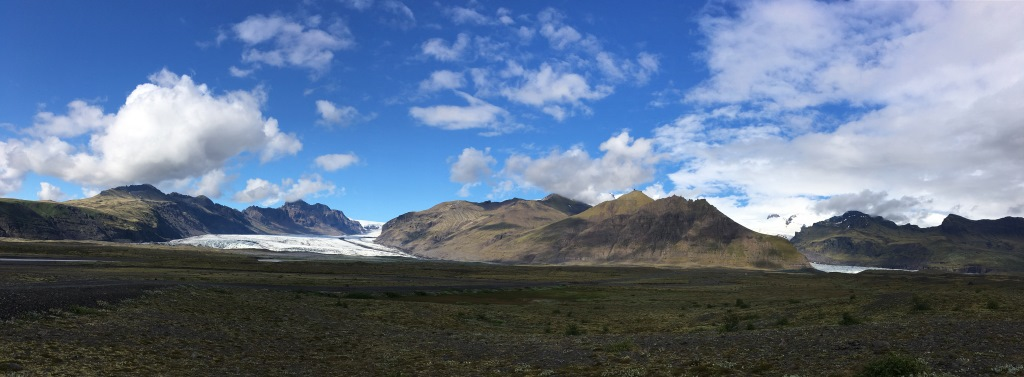 Eyafjallajökul glacier
