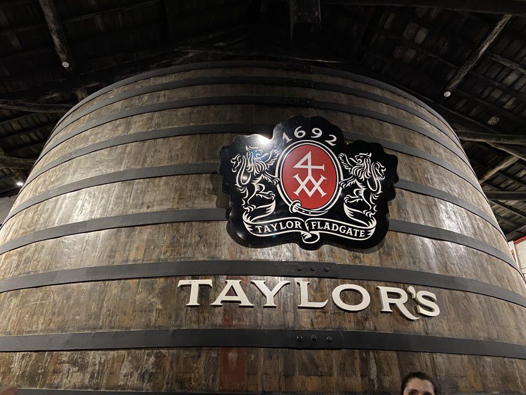 Taylors port wine cellar - large keg