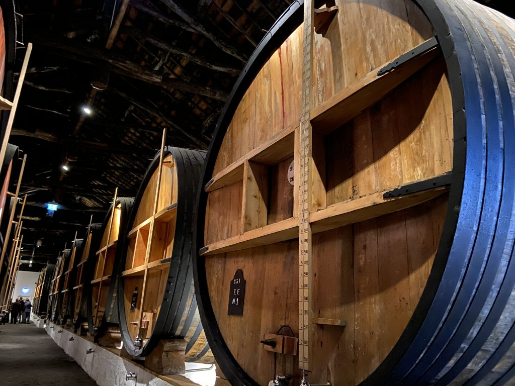 Taylors port wine cellar