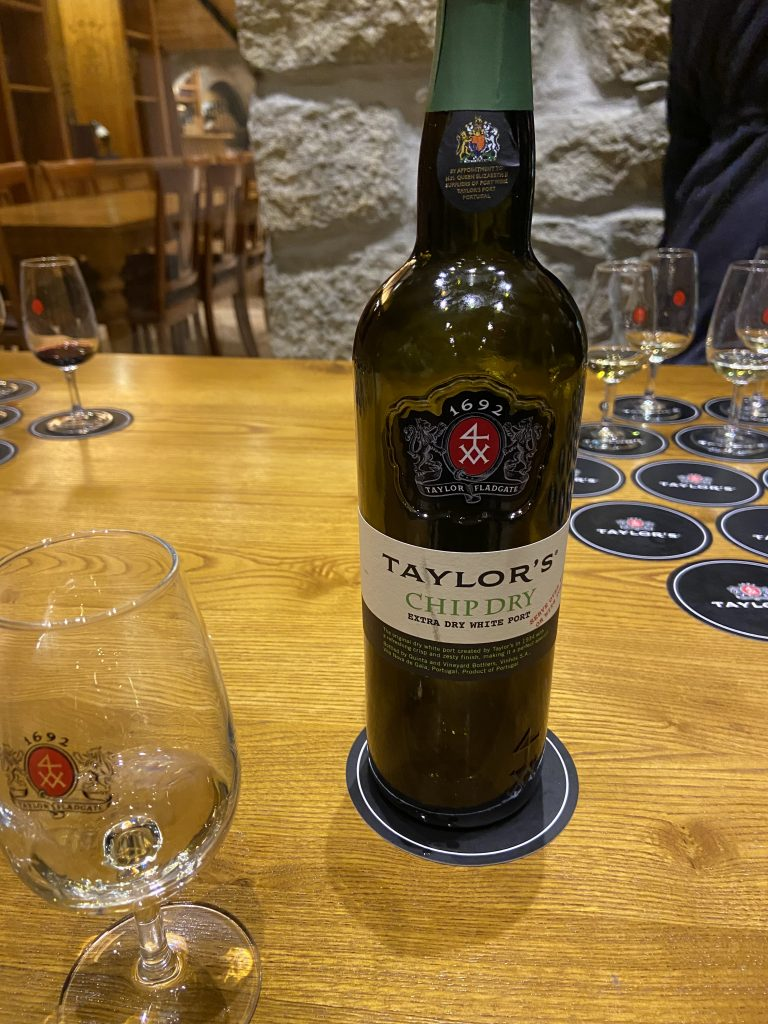 Tyalors Port wine tasting