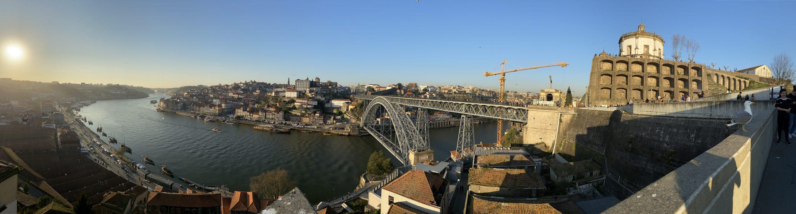 Porto from Jardim do Morro