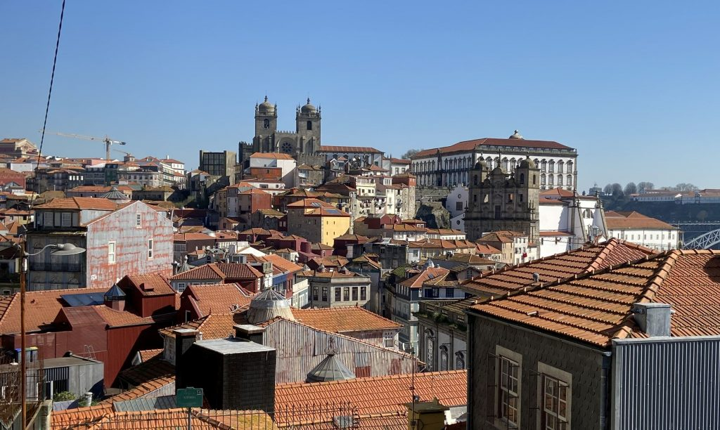 View from Miradouro da Vitoria